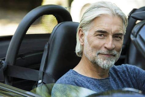 coolest long hairstyles  older men