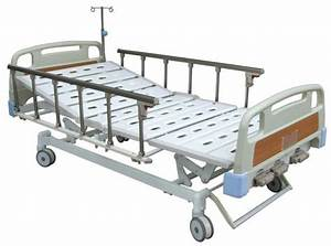 Adjustable Manual Hospital Bed