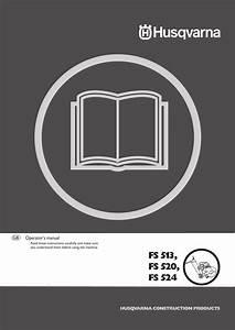 Husqvarna Chainsaw Fs 513 Users Manual Om  Fs513  Fs520