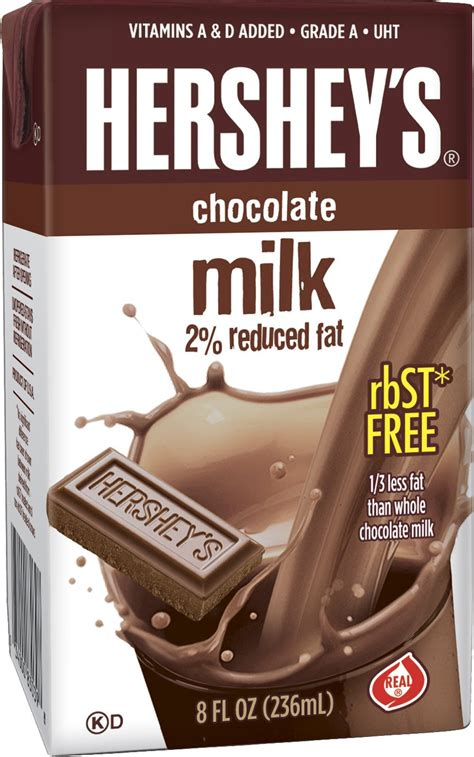 Hershey's chocolate flavored milk , 21- 8 Ounce Aseptic