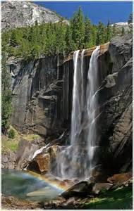 Vernal Falls Yosemite National Park California