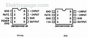 Tda7233 - Integrated Circuits Elektropage