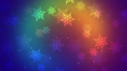 Colorful Snowflakes 5k Wallpapers
