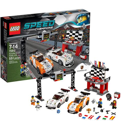 lego speed chions porsche lego speed chions 75912 porsche 911 gt finish line ebay
