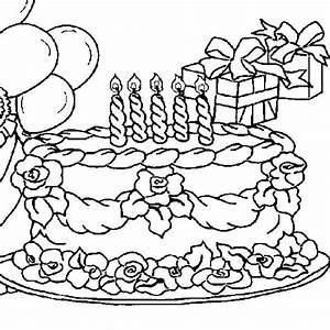 Dessin Gateau Anniversaire : dessin colorier anniversaire maman ~ Melissatoandfro.com Idées de Décoration