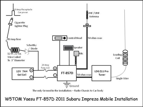 Here Schematic Showing The Installation Without