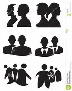 People Silhouette Design Vector Illustration Stock Vector ...