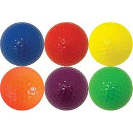 colored golf balls olympia sports gf061p 1 dozen colored golf balls 2 each