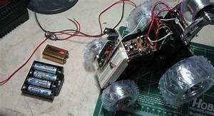 Robot Platform Including H-bridges From  10 R  C Car