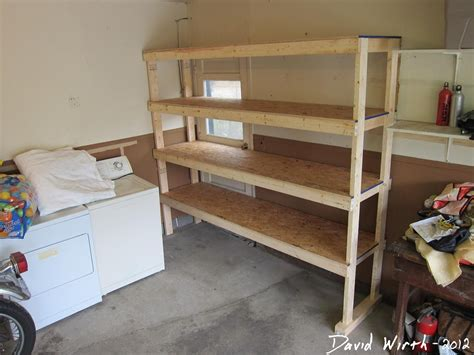 Wood Shelves by Heavy Duty 2x3 And 2x4 Storage Units With Plywood Shelves