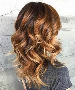 Balayage Cheveux Frisés : 1001 variantes du balayage caramel pour sublimer votre coiffure ~ Farleysfitness.com Idées de Décoration