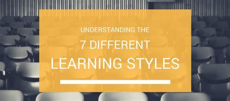 understanding    major learning styles