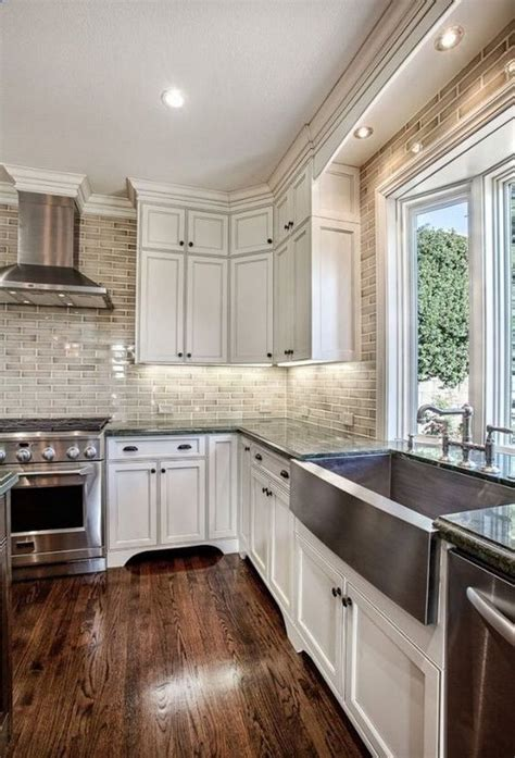 kitchen paint colors with brick 80 cool kitchen cabinet paint color ideas