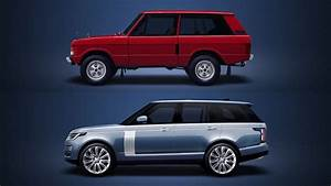 Land Rover Range Rover Evolution - 1970-2018