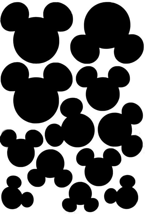 mickey mouse wall decals ideas  pinterest