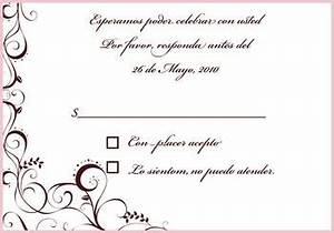 formal invitation rsvp gallery invitation sample and With wedding cards messages in spanish