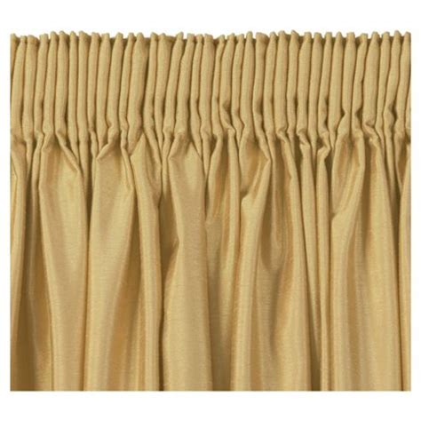 gold curtains 90 x 90 buy tesco faux silk lined pencil pleat curtains w229xl229cm 90x90 quot gold from our pencil pleat
