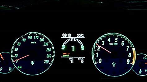 Maserati Granturismo S Top Speed Run