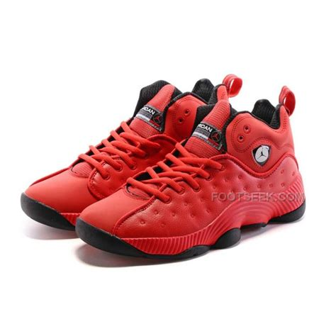 mens air jordan jumpman team ii basketball shoes gym red