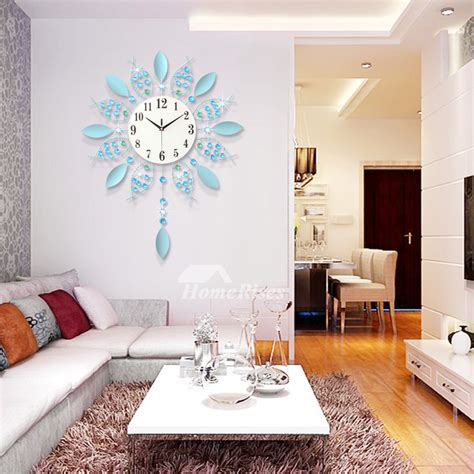 battery operated wall clocks hanging french
