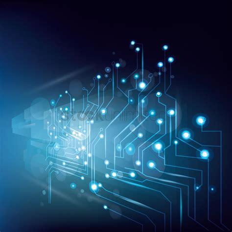 Digital Technology Business Wallpaper by Technology Wallpaper Vector Image 1807662