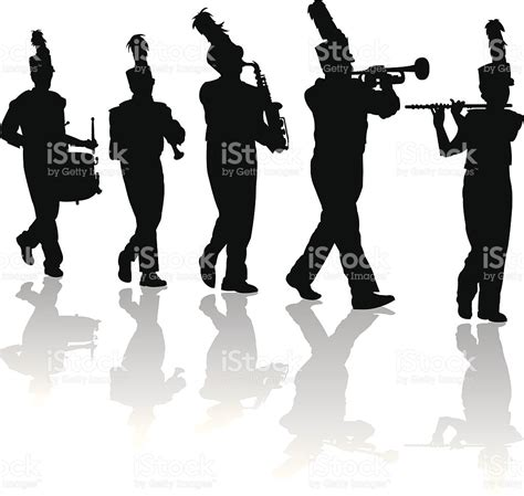 Marching Band Clipart Marching Band Clipart Black And White Www Pixshark