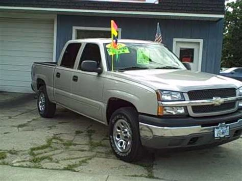2005 Chevy Trucks by 8465 2005 Chevy Up Truck 4x4 Silverado 31k 4 Door