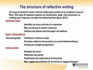 critical reflection essay example example essay papers With structured reflective template