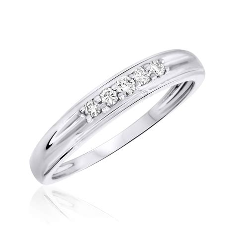 popular women white gold wedding bands