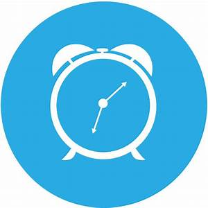 Round clock icon Free vector in Adobe Illustrator ai ( ai