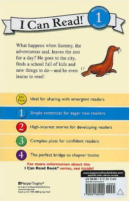 sammy the seal i can read book series level 1 by syd