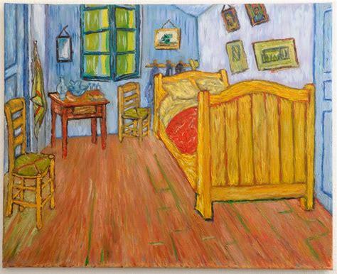 chambre à coucher gogh la chambre de gogh à arles version 1 peinte à la