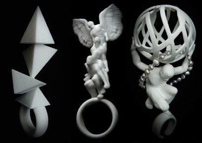 rob elford  print jewellery dprintedjewelry
