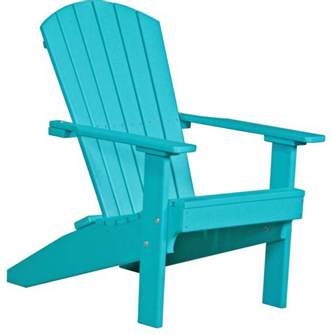 poly outdoor lakeside adirondack chair modern
