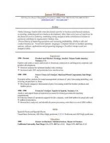 resume one employers sle resume 85 free sle resumes by easyjob sle