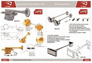 Go 8327  Truck Air Horn Diagram