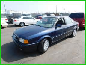 car service manuals pdf 1994 audi 90 on board diagnostic system c 1994 audi 90 s used 2 8l v6 12v manual sedan no reserve for sale photos technical