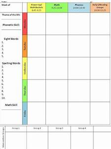 17 best ideas about daily schedule template on pinterest for Yearly lesson plan template