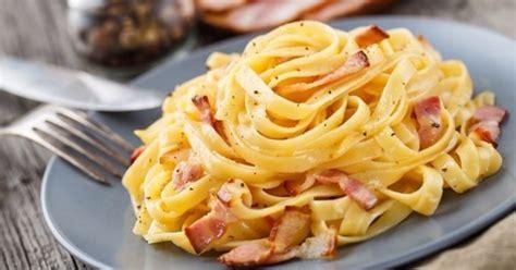 recette cuisine italienne pâtes carbo à la française vs pâtes carbo à l italienne