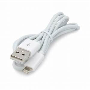 White Usb Cable Data Sync Cord Charging Power Charger Wire