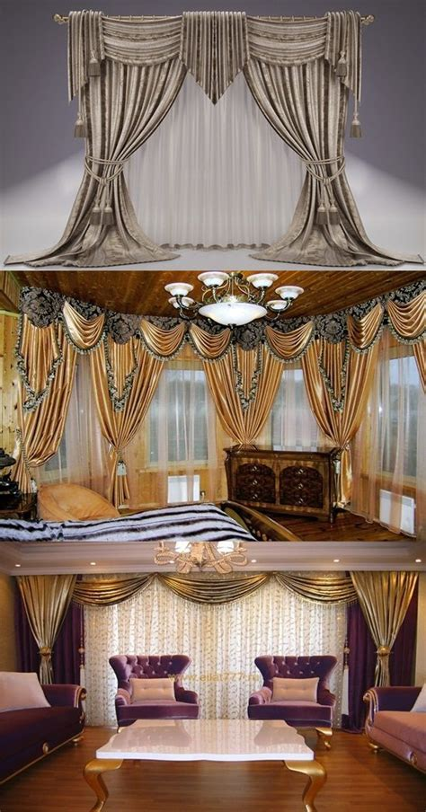 classic curtains designs