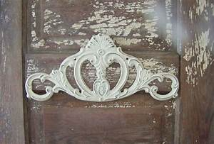 Cast iron wall home decor shabby chic scroll hanging