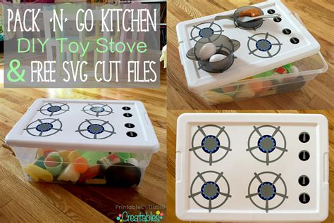 storage container with lid pack 39 n 39 go kitchen diy stove tutorial free svg cut
