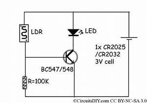 simplest remote control checker circuits diy With ldr based circuit