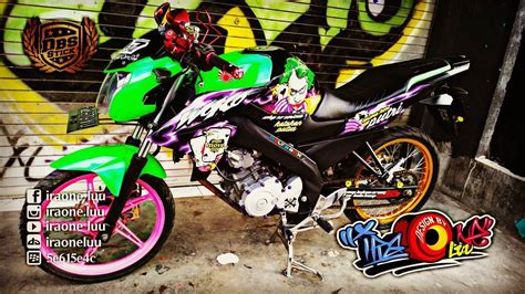 New Vixion Thailook Style by Cutting Sticker Yamaha New Vixion Lightning Joker Dbs