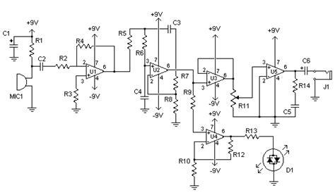 Electronic Stethoscope Circuit Diagram Instructions