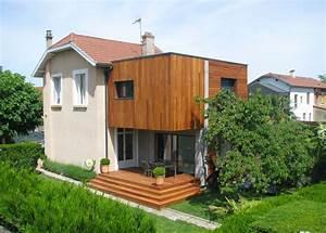 bien aime extension maison etage bois os77 montrealeast With faire un agrandissement de maison