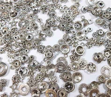 perlen metall  metallperlen altsilber metal