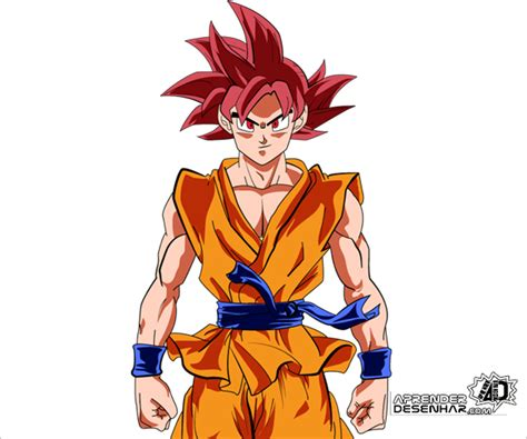 Como desenhar o Goku Deus passo a passo COMPLETO em 2020