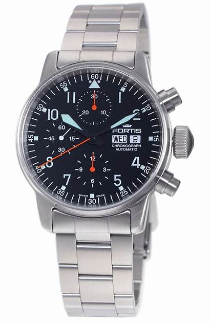 Chronograph Automatic Master Watches Montblanc Flieger Fortis